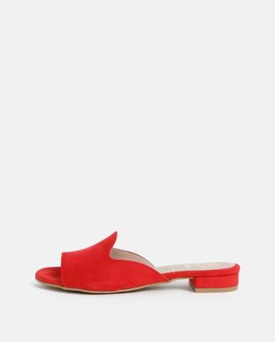 Červené papuče OJJU