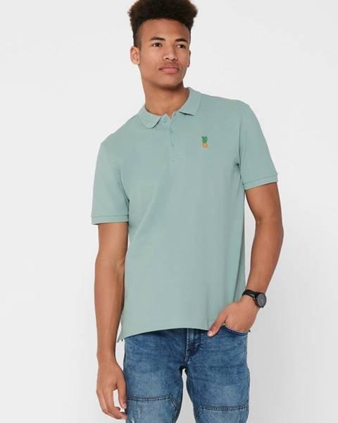 Modrá košeľa ONLY & SONS