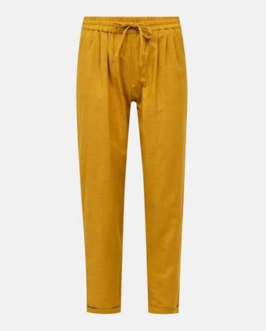 Horčicové nohavice Only