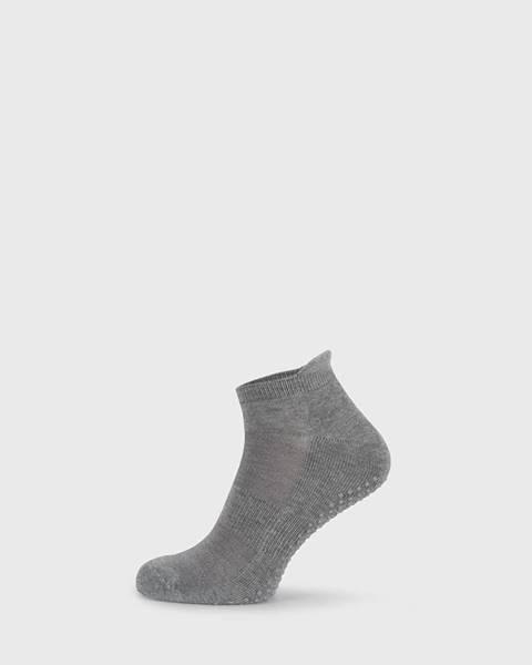 Sivé ponožky Ysabel Mora