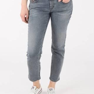 Džínsy Diesel Belthy-Ankle-D L.32 Pantaloni Modrá