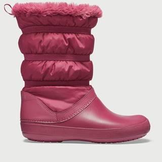 Topánky Crocs Crocband Winter Boot Červená