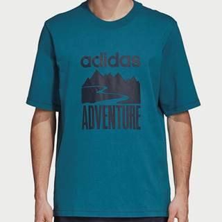 Tričko adidas Originals Adventure Tee Modrá