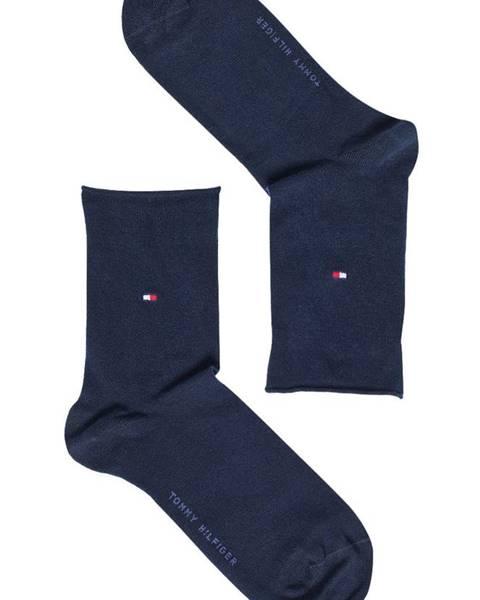 Tmavomodré ponožky Tommy Hilfiger