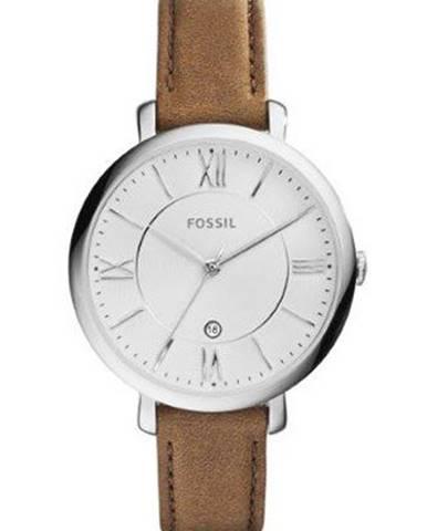Hnedé hodinky Fossil