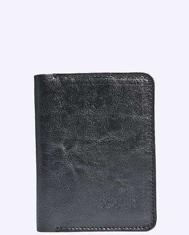 Čierna peňaženka Solier