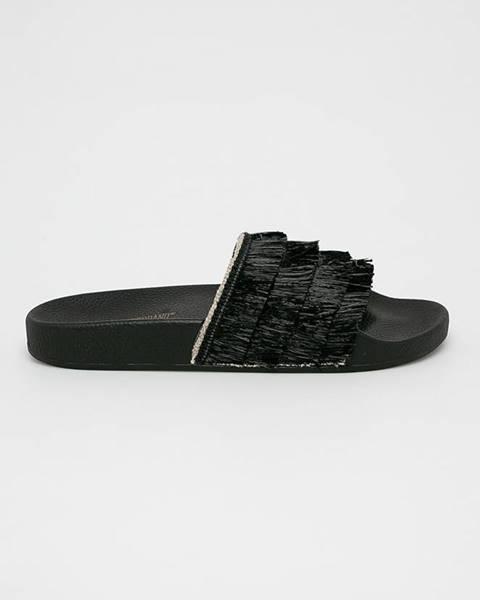 Čierne sandále TheWhiteBrand