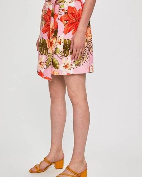 Ružová sukňa Vero Moda