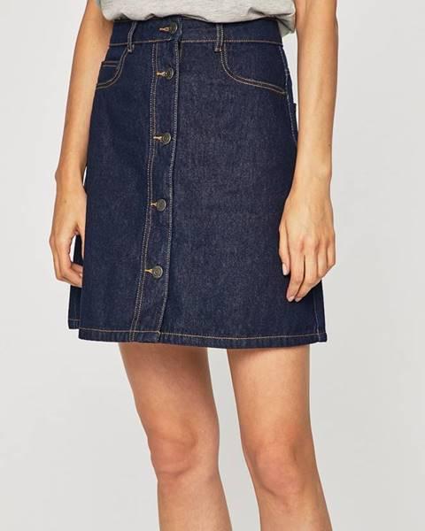 Tmavomodrá sukňa Noisy May