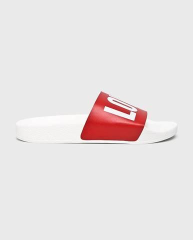 Červené sandále TheWhiteBrand