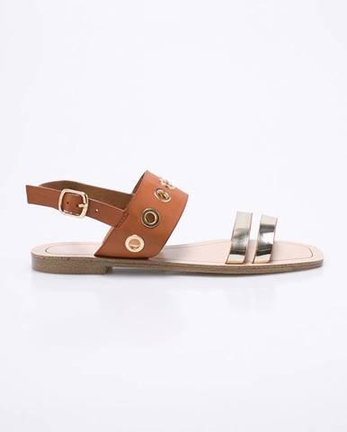 Zlaté sandále Corina