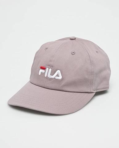 Fialová čiapka Fila