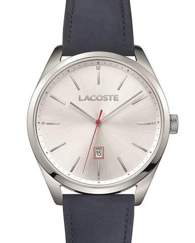 Tmavomodré hodinky Lacoste
