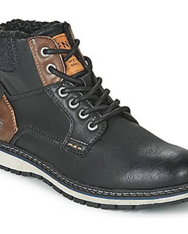 Čierne topánky Tom Tailor