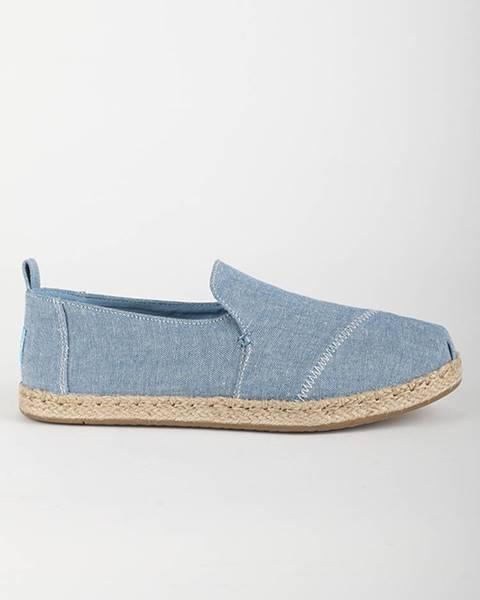 Modré topánky TOMS