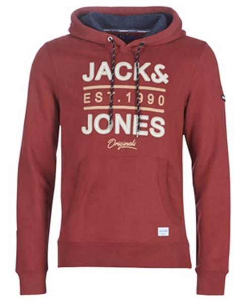 Červená mikina Jack   Jones