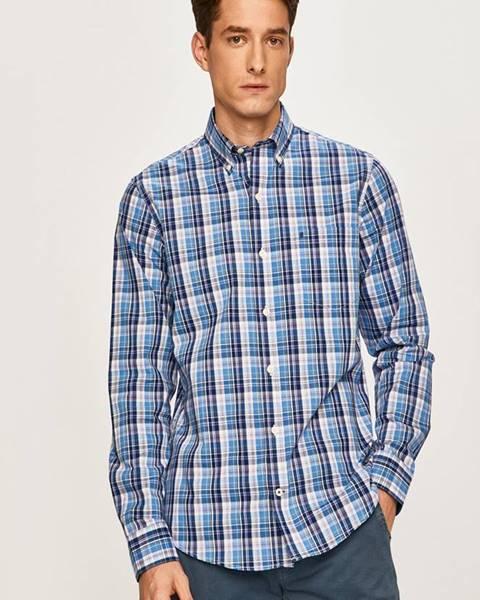 Modrá košeľa Izod