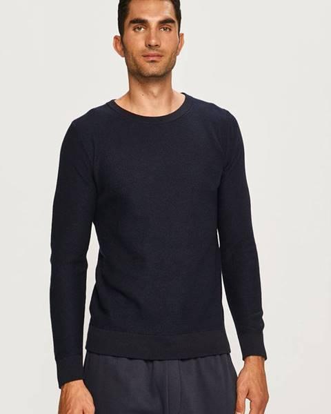 Tmavomodrý sveter Selected