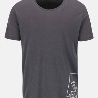 """""""Dobré"""" sivé pánske tričko pre Jeden Svět"""