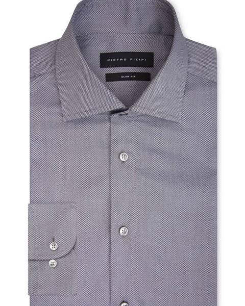 Sivá košeľa Pietro Filipi