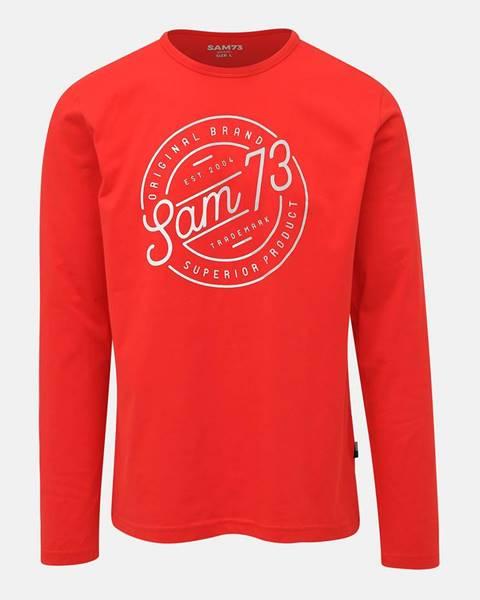 Červené tričko SAM 73