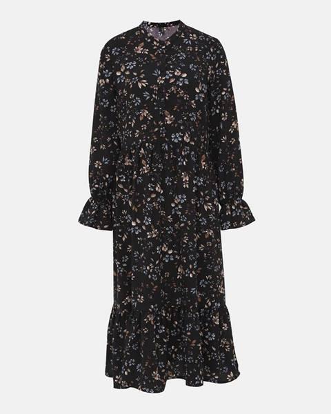 Čierne midišaty Vero Moda