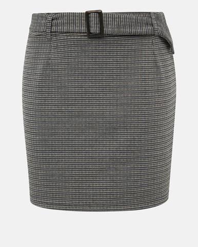 Sivá sukňa Vero Moda
