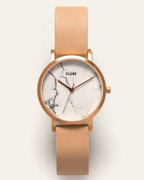 Ružové hodinky Cluse