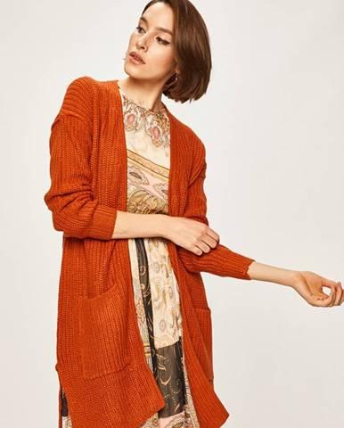 Oranžový sveter Answear