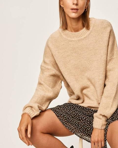 Béžový sveter Answear