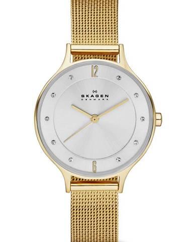Sivé hodinky Skagen