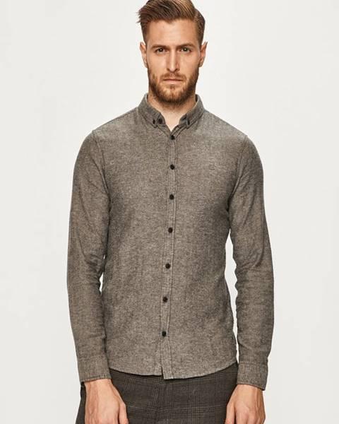 Sivá košeľa Blend