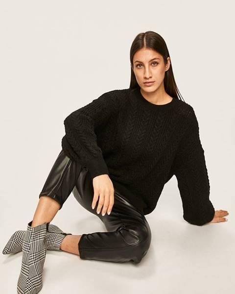 Čierny sveter Answear