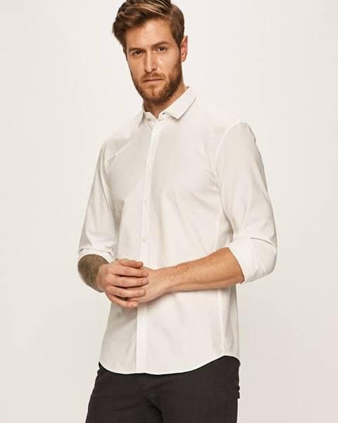 Biela košeľa Tom Tailor Denim