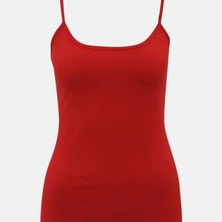 Červené dámske basic tielko  Diana