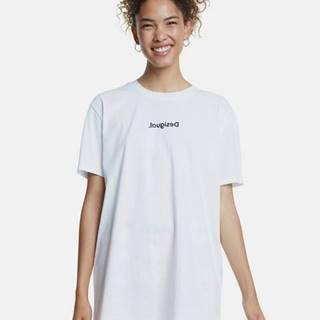 Biele oversize tričko Desigual