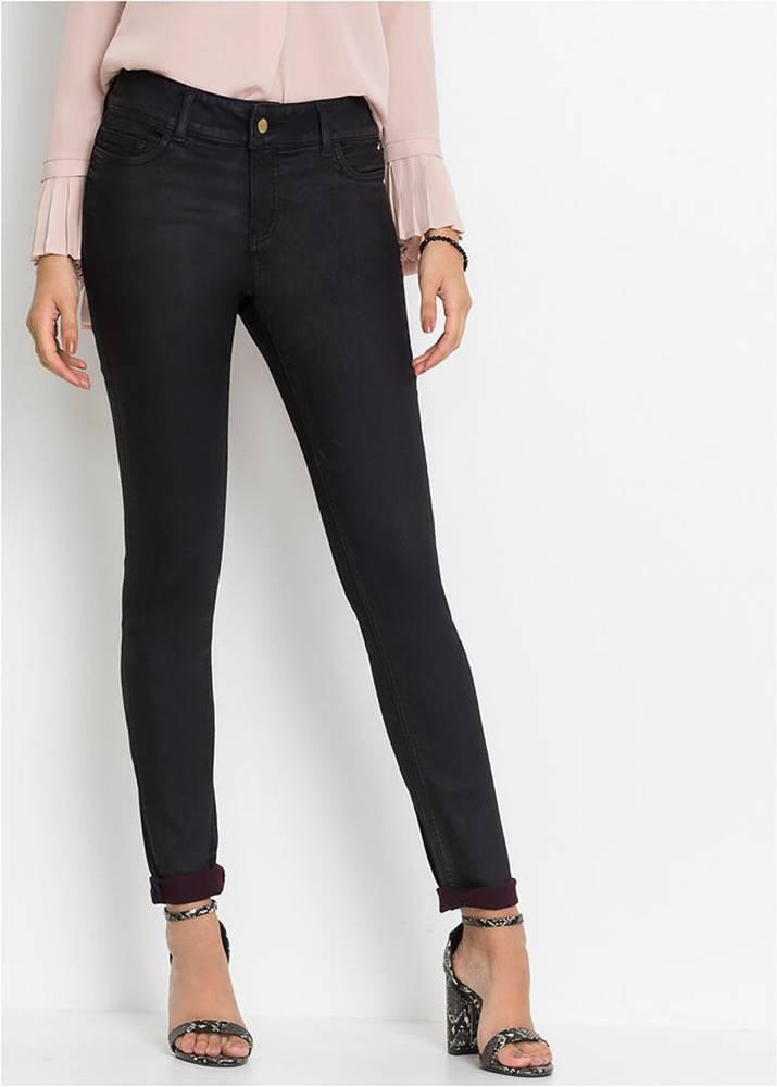 bonprix Strečové nohavice s vrstvením