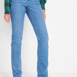 Komfortné strečové džínsy, Rovné