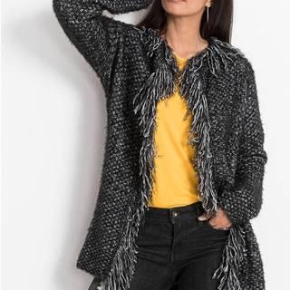 Dlhý pletený sveter