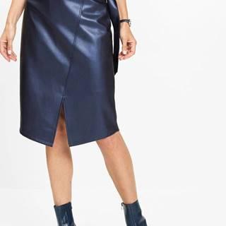 Koženková sukňa lesklá