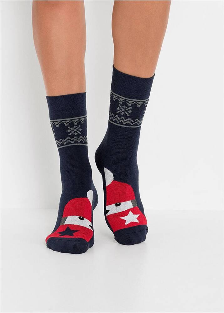 bonprix Ponožky, termo (3 ks v balení), unisex, bio bavlna