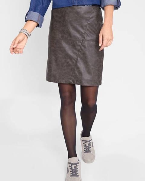 Hnedá sukňa bonprix
