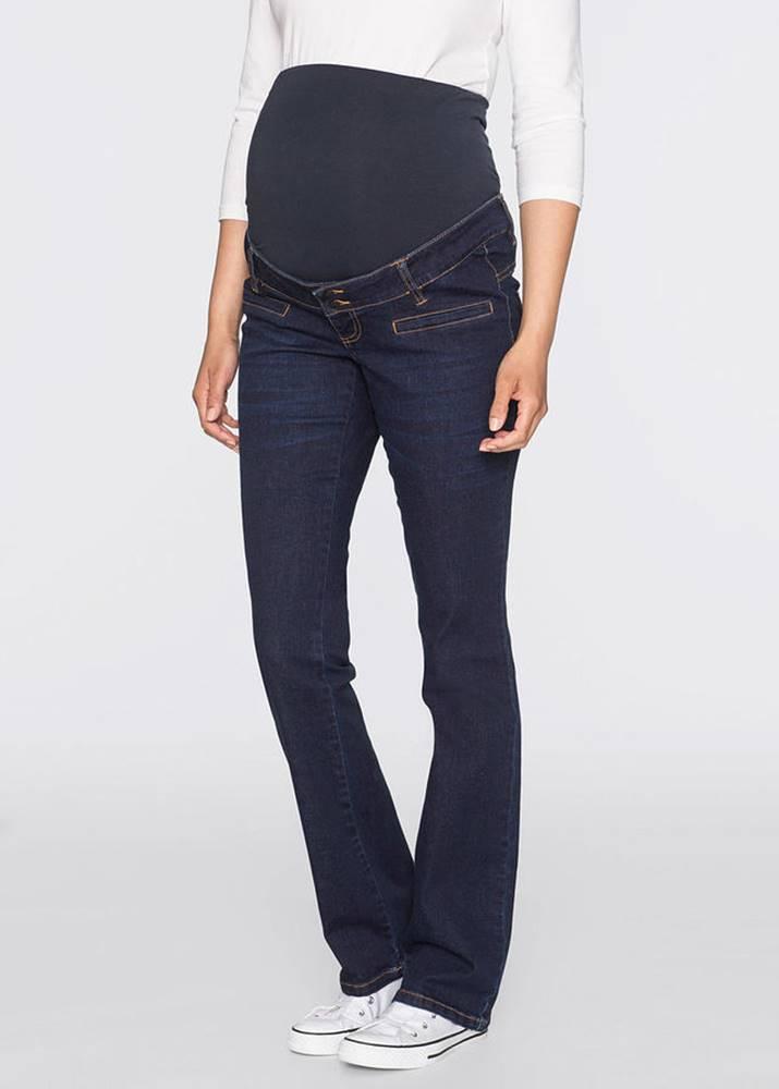 bonprix Tehotenské džínsy, Bootcut