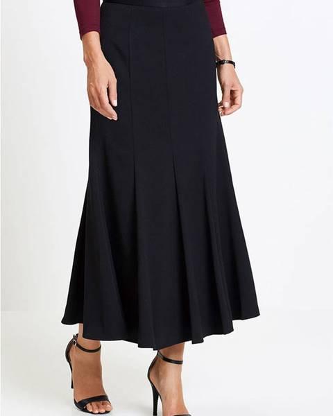 Čierna sukňa bonprix