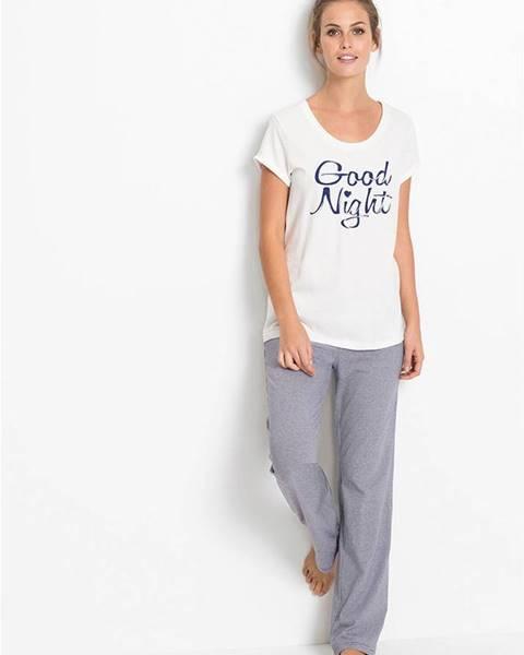 Modré pyžamo bonprix