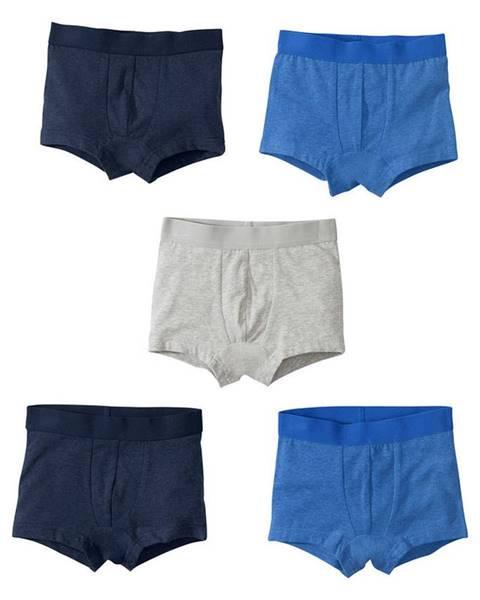 Modré šortky bonprix