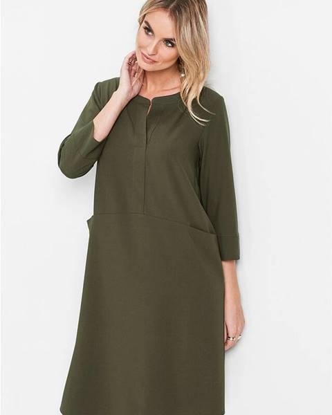 Zelené šaty bonprix