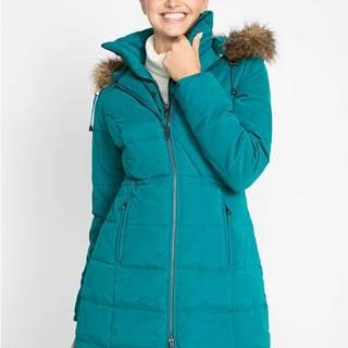 bonprix Krátky kabát s kapucňou
