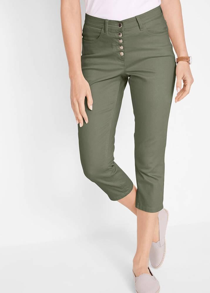 bonprix Udržateľné 3/4-ové nohavice z recyklovaného polyesteru