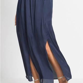 Maxi sukňa so záhybmi